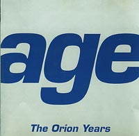 Age Orion Years CD