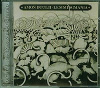 Amon Duul Lemmingmania remix CD