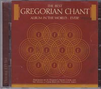 Best Gregorian Chant Album In The World Ever, Various £5.00