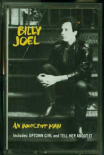 Billy Joel An Innocent Man cassette