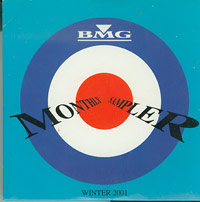 Various: BMG Monthly Sampler Winter 2001 pre-owned CD for sale
