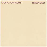 Brian Eno    Music for films   CD