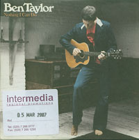 Ben Taylor Nothing I Can Do CDs