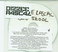 Dizzee Rascal Old Skool CDs
