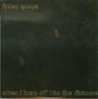 When I Burn Off Into The Distance, Finley Quaye £0.90