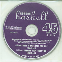 How Wonderful You Are, Gordon Haskell