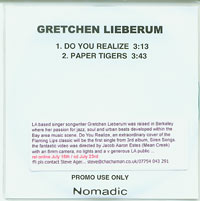 Do You Realize, Gretchen Lieberum