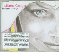 Indiana Gregg Sweet Thing CDs