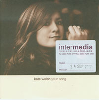 Kate Walsh Your Song CDs