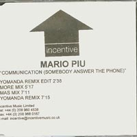 Communication (Somebody Answer The Phone) , Mario Piu