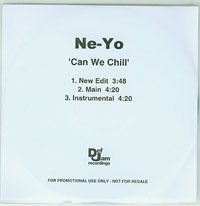 Ne-Yo Can We Chill CDs