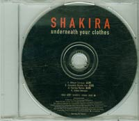 Underneath Your Clothes, Shakira £1.50