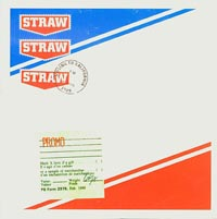 Moving To California, Straw
