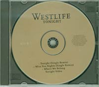 Tonight CD1, Westlife