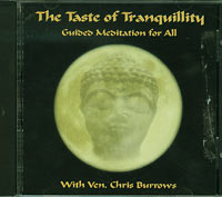 Chris Burrows The Taste of Tranquillity - Guided Meditation for All CD