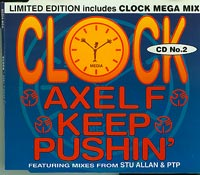 AXEL F Keep Pushing CD2, Clock