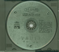 Limited Edition Live CD, Def leppard