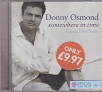 Somewhere In Time, Donny Osmond £1.00