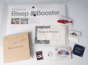 The world of Bleep & Booster (signed), Bleep & Booster £40.00