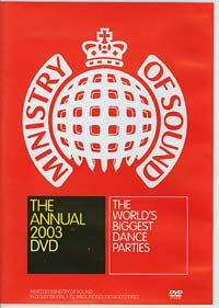 Ministry of Sound The Annual DVD 2003, Various £10.00