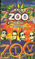 Zoo TV Live From Sydney, U2 £4
