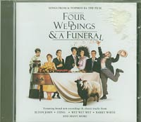 Four Weddings And Funeral Soundtrack, Various £5.00