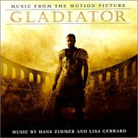 Gladiator Soundtrack, Various £5.00