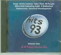 Hits 93 Vol 1, Various £5.00