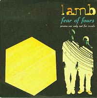 Fear of fours, Lamb £8.00