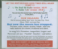 Let The New Orleans Good Times Roll Again, Various