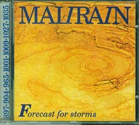 Forcast for storms, Malirain