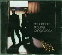 Mcalmont & Butler Bring it Back CD