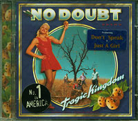 Tragic Kingdom, No Doubt £3.00