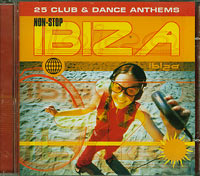 Various Ibiza -25 non-stop club and dance anthems CD
