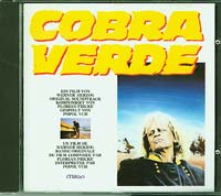 Popol Vuh Cobra Verde  CD