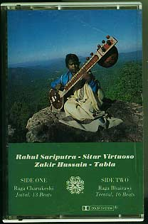Footprints in the sky, Rahul Sariputra & Zakir Hussain £7.00