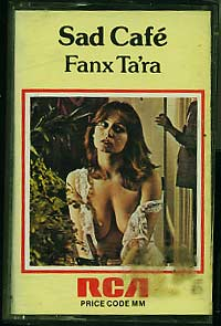 Sad Cafe: Fanx Tara pre-owned cassette for sale