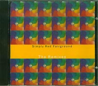 Simply Red Fairground Remixes CDs