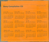 Sony Compilation CD, Various