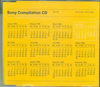 Sony Compilation CD April 98, Various