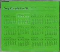 Sony Compilation CD February 98, Various £3.00