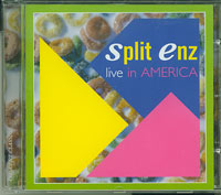 Split Enz Live in America CD