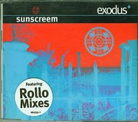 Exodus, Sunscreem  £2.00