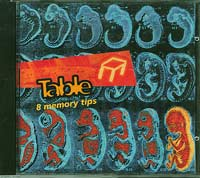 8 Memory tips, Table  £5.00