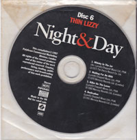 Night And Day, Thin Lizzy £3.00