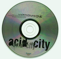 Underground Control One - Acid City, Various £2.00