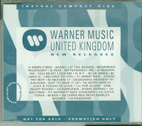 Warner Music New Releases 102, Various £3.00