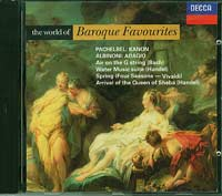 Various The World of Baroque Favourites CD