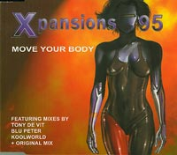 Xpansions 95   Move Your Body  CDs